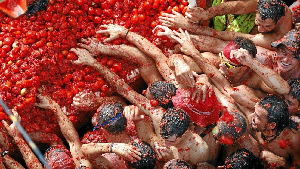 the tomatina valencia